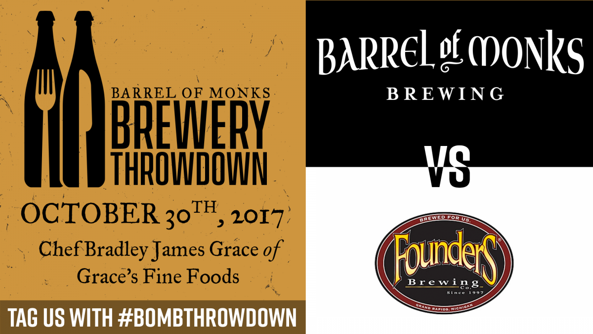 Brewery Throwdown vs Founders Brewing Co