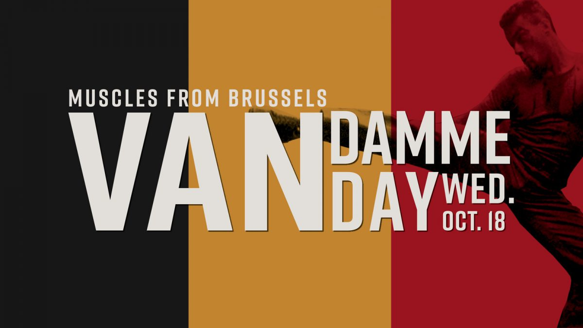 Van Damme Day – Celebrate the Birthday of the Muscles from Brussels