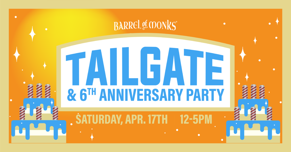 6th Anniversary Tailgate Party and Triple Can Release